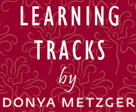 Learning Tracks by Donya Metzger
